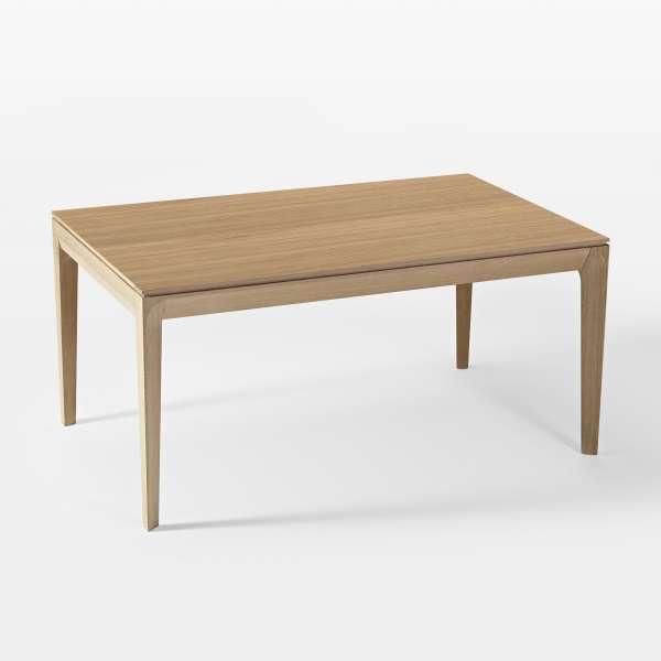 Table de salle à manger française extensible en bois - Buzz