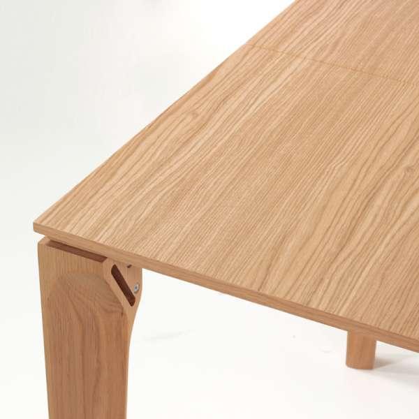 Table de salle à manger française extensible en céramique - Buzz - 7
