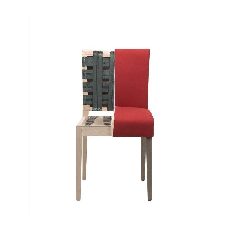 Chaise Confortable Mobitec En Synthetique Et Pieds En Bois Shanna