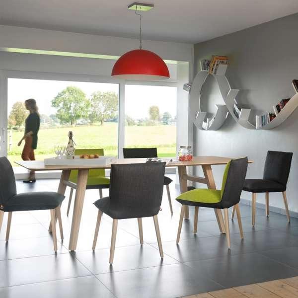 Chaise en tissu et hêtre massif- Soft Mobitec® - 5