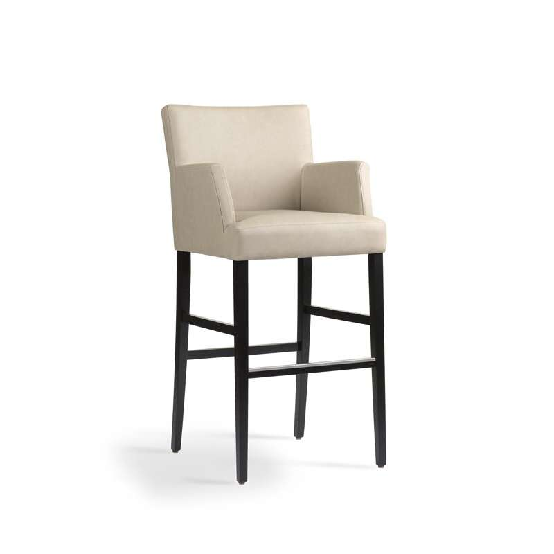 chaise de bar bois accoudoir