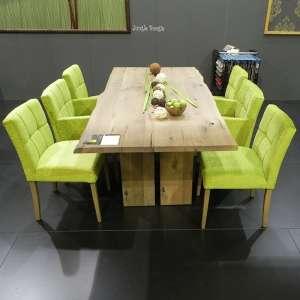 Table de salle à manger moderne en bois massif - Amazone Mobitec