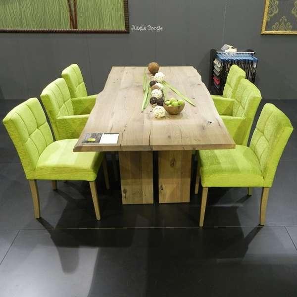 Table de salle à manger moderne en bois massif rustique - Amazone ...