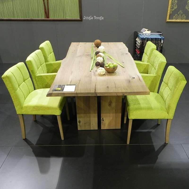 Table De Salle A Manger Moderne En Bois Massif Rustique Amazone