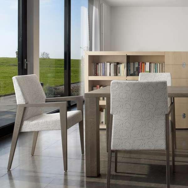Table en bois gris sur-mesure- Nevada Mobitec® - 10