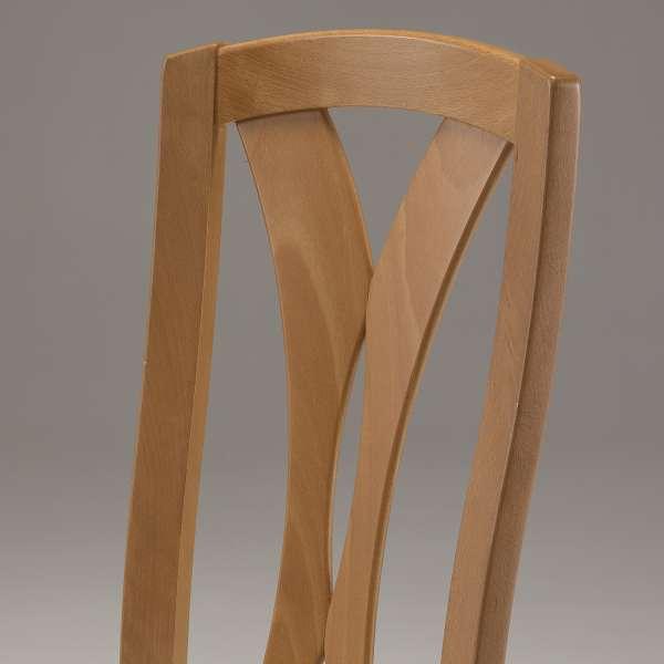 Chaise contemporaine de salle à manger en bois massif - Morgan - 3