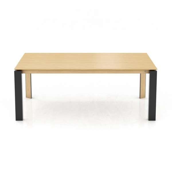 Table rectangulaire en bois massif et métal - Oxford Mobitec® - 2