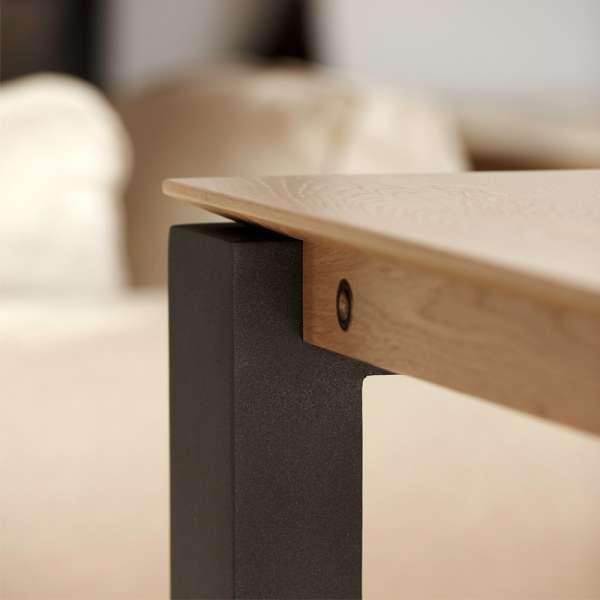 Table en bois avec piétement métallique - Oxford Mobitec® - 5