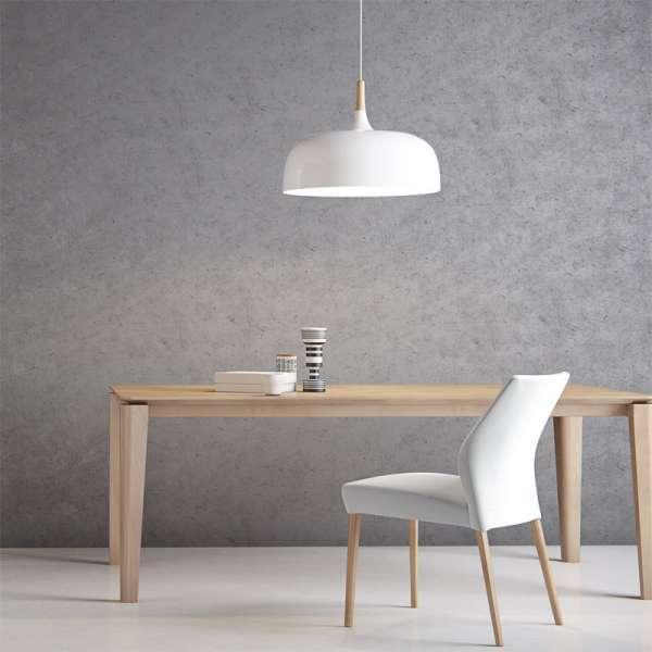 Table scandinave extensible en bois massif - Oxford PB2 Mobitec® | 4 ...