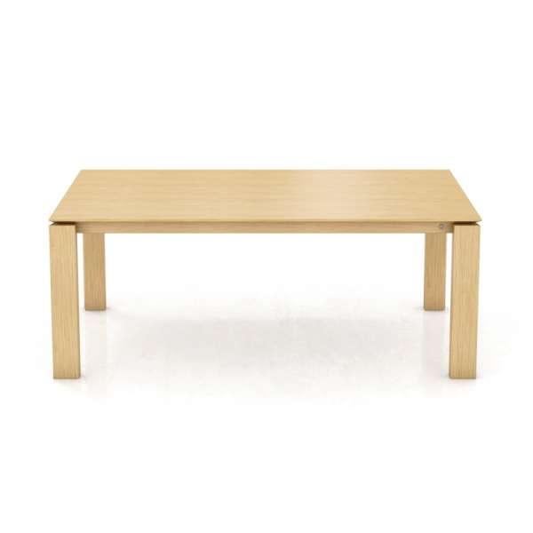 Table en bois rectangulaire hauteur de 76cm  - Oxford Mobitec® - 1