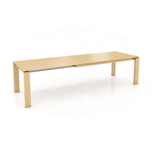 Table extensible avec allonge papillon en bois massif - Oxford Mobitec® - 3
