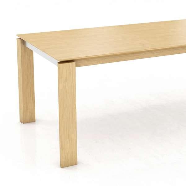 Table rectangulaire avec rallonge en bois - Oxford Mobitec® - 5