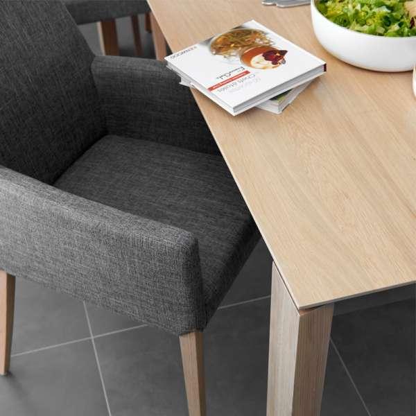 Table contemporaine extensible en bois massif - Oxford Mobitec® - 6