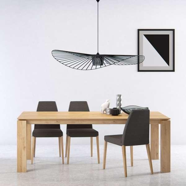 Table contemporaine avec rallonge en bois massif - Oxford Mobitec® - 10