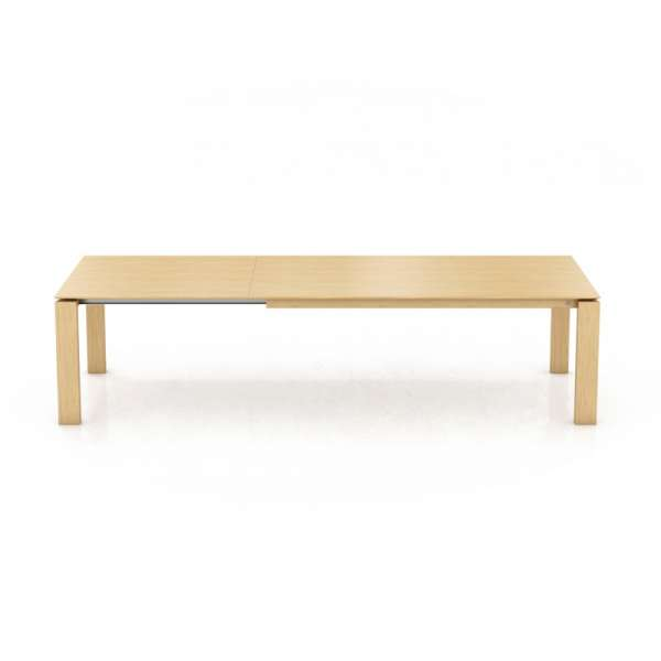 Table en bois marron clair extensible - Oxford Mobitec® - 4
