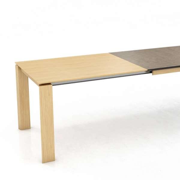 Table extensible en bois et céramique- Oxford Mobitec® - 2