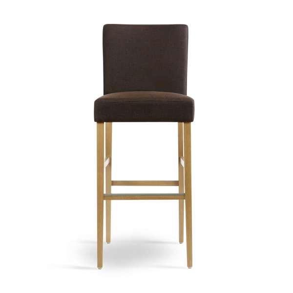 Tabouret de bar marron pour table 110cm de hauteur - Shawn Mobitec® - 2