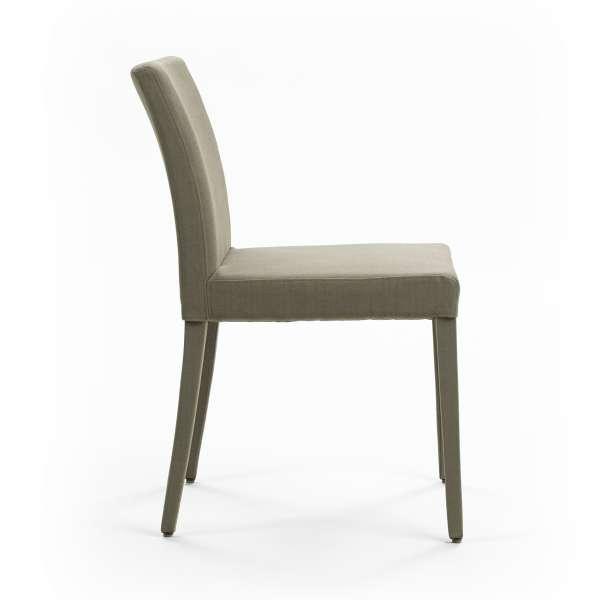 Chaise grise avec pieds gainés en tissu - Slim Cover Mobitec® - 5