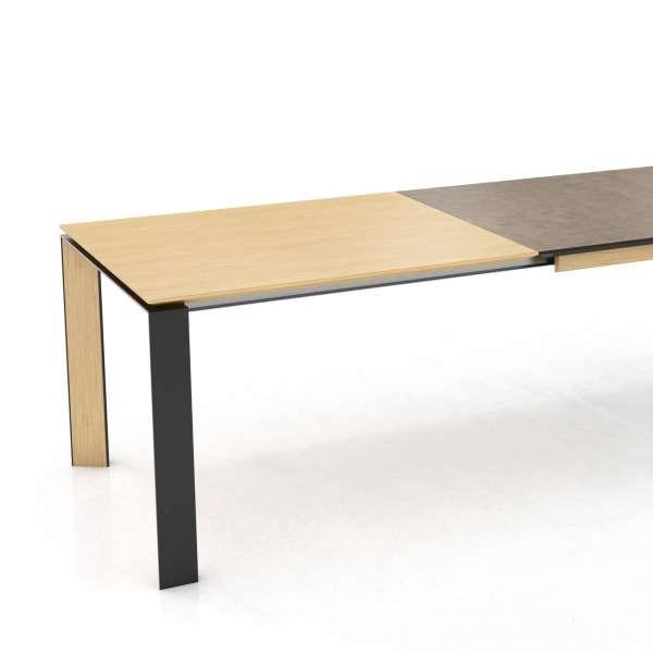 Table en céramique, bois et métal extensible - Oxford Mobitec® - 2