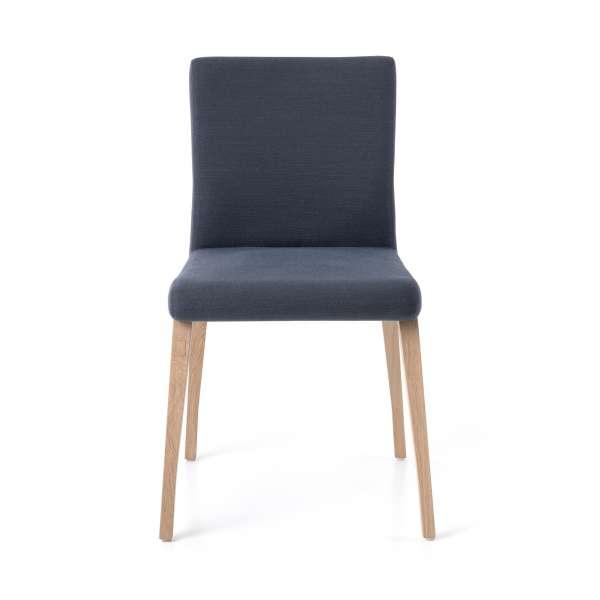 Chaise empilable en tissu et pieds en bois - Pure classic Mobitec® - 2
