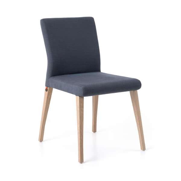 Chaise Cocooning En Tissu Et Pieds Bois   Pure Classic Mobitec®