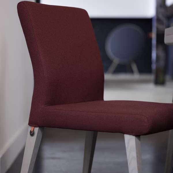 Chaise confortable rouge en tissu et bois - Pure classic Mobitec® - 6