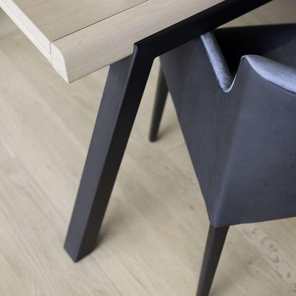 Table Mobitec en bois et pieds en métal noir - London Mobitec® - 11