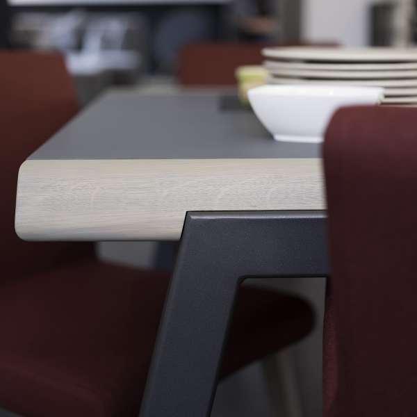 Table en bois et métal moderne - London Mobitec® - 5