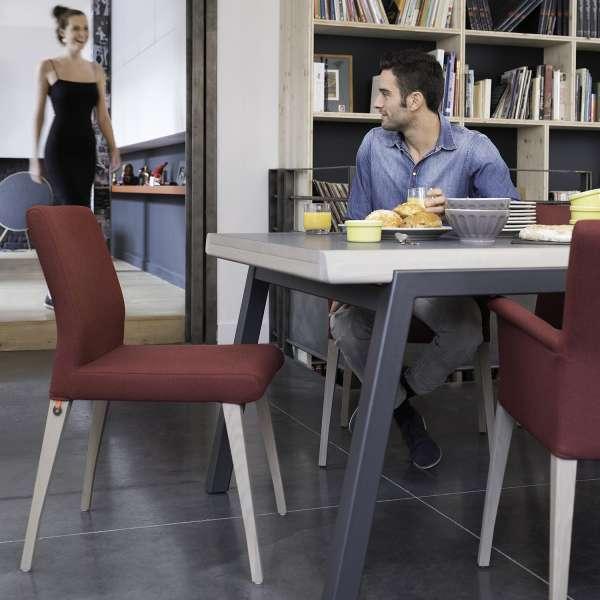 Table Mobitec moderne en bois et pieds en métal - London Mobitec® - 6