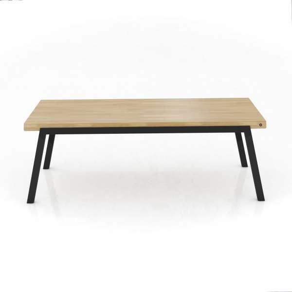 Table moderne en bois extensible avec pieds en métal - London Mobitec® - 2