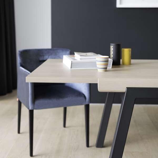 Table en bois et métal extensible - London Mobitec® - 9
