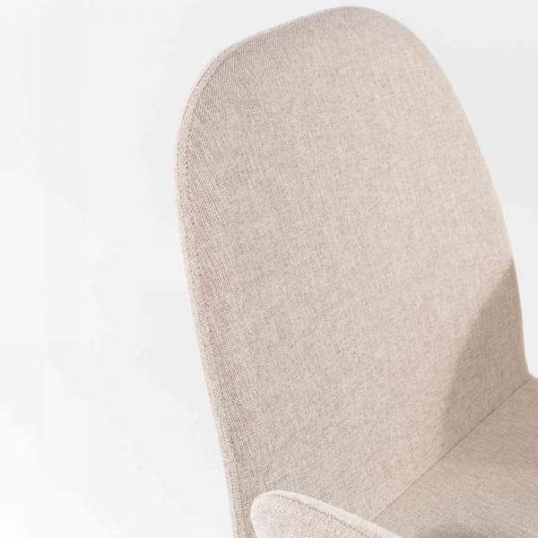 Fauteuil en tissu blanc - Puccini Mobitec® - 19