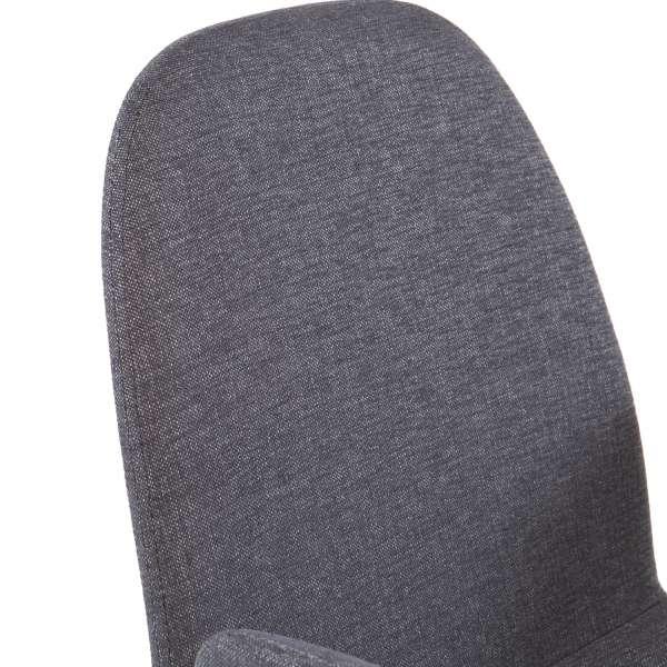 Fauteuil gris foncé en tissu - Puccini Mobitec® - 10