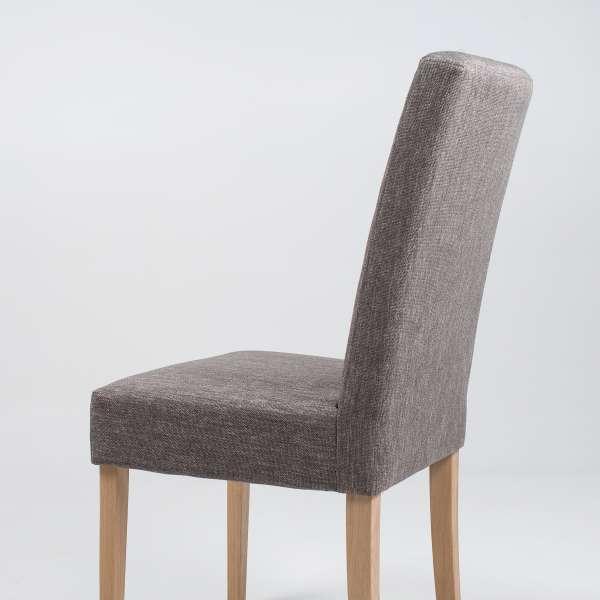 Chaise en tissu gris et bois massif - Gaby Mobitec® - 6