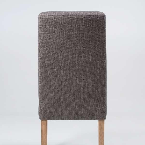 Chaise en tissu gris et bois massif - Gaby Mobitec® - 7
