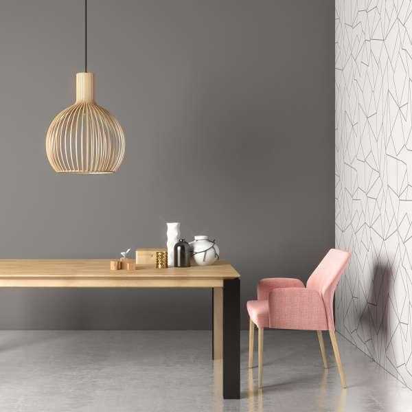 Table avec plateau en bois massif et pieds en métal - Oxford Mobitec - 11
