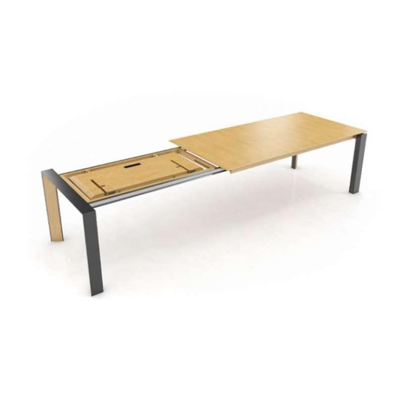 Extensible Métal Moderne Massif Pb3 Mobitec® Oxford Table Et En Bois b6gmIYf7yv