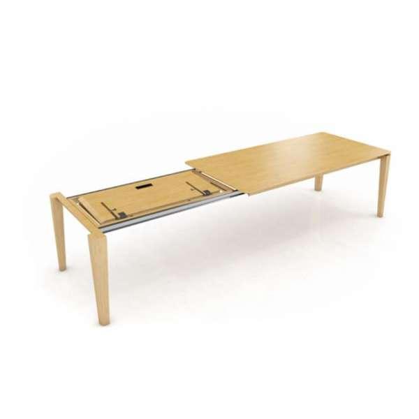 Table en bois massif avec rallonge papillon - Oxford Mobitec® - 4