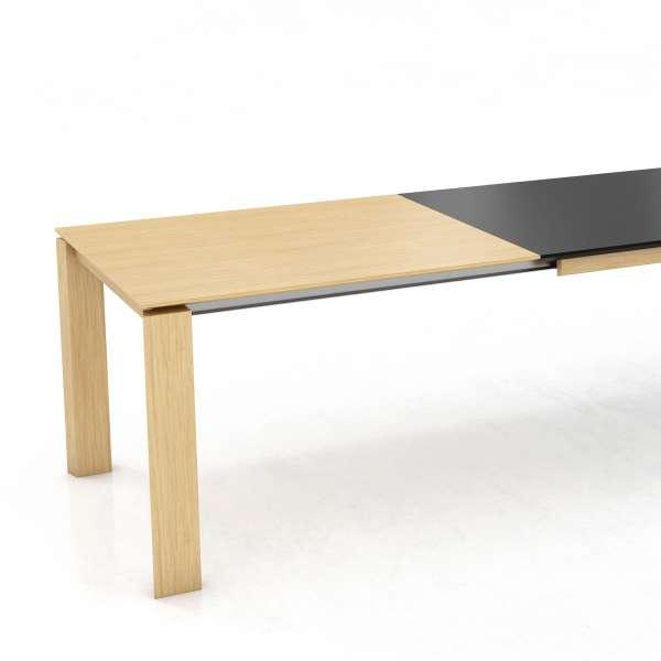 Table en stratifié avec rallonge en bois - Oxford Mobitec® - 2