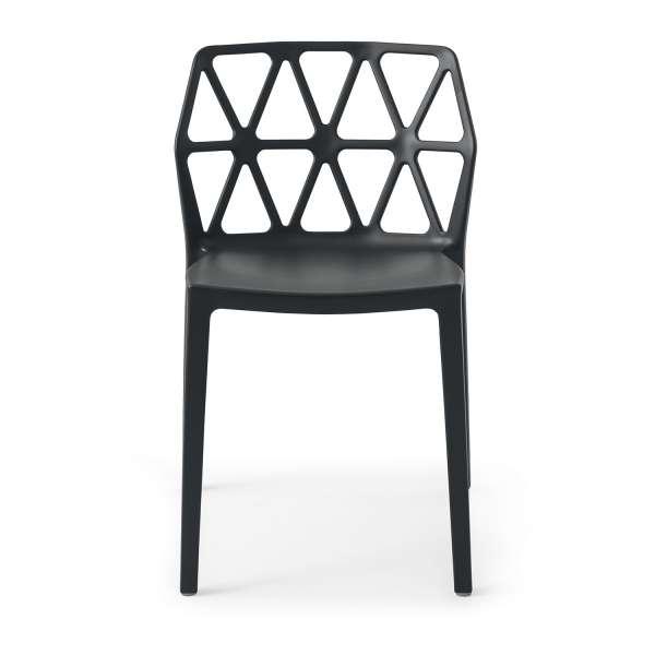 chaise de jardin design empilable en polypropylène - Alchemia Connubia - 3