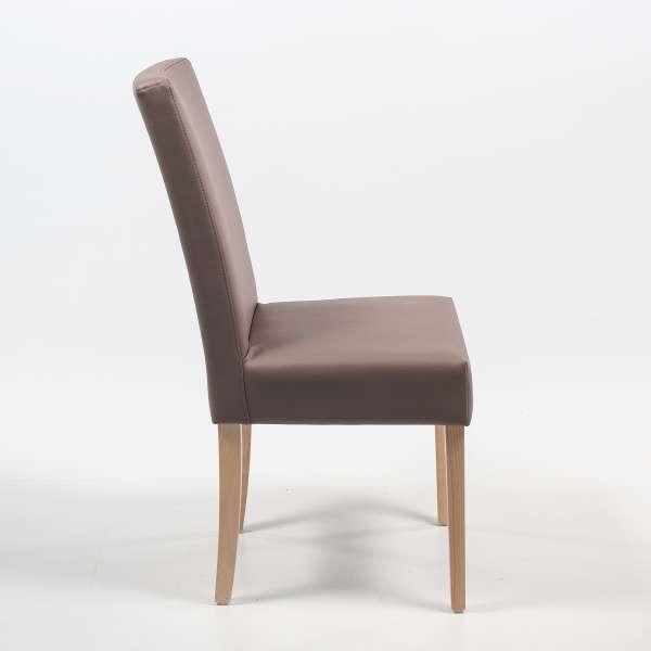 Chaise contemporaine en synthétique et pieds en bois massif - Gaby Mobitec® - 4