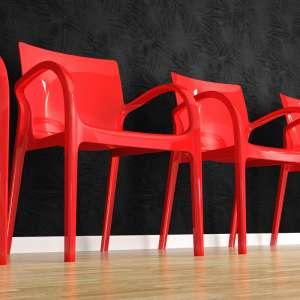 Fauteuil moderne en plexi rouge opaque - Déjà vu