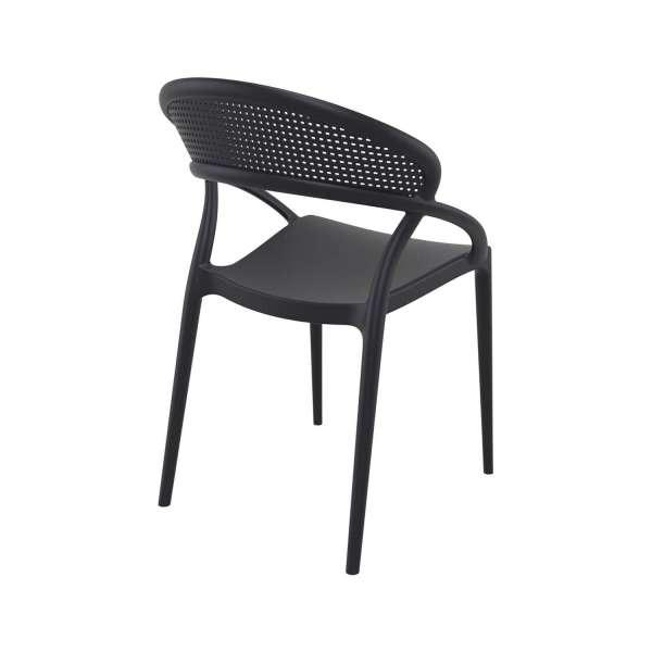 Chaise design empilable en polypropylène - Sunset - 9