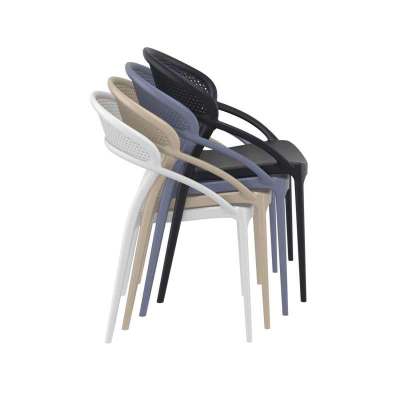 En Polypropylène Chaise Sunset Design Empilable wnk0OX8P