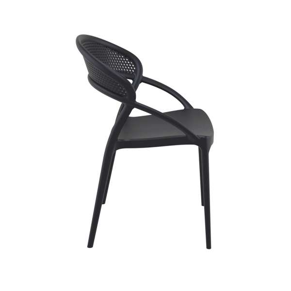 Chaise design de jardin empilable en polypropylène - Sunset - 8