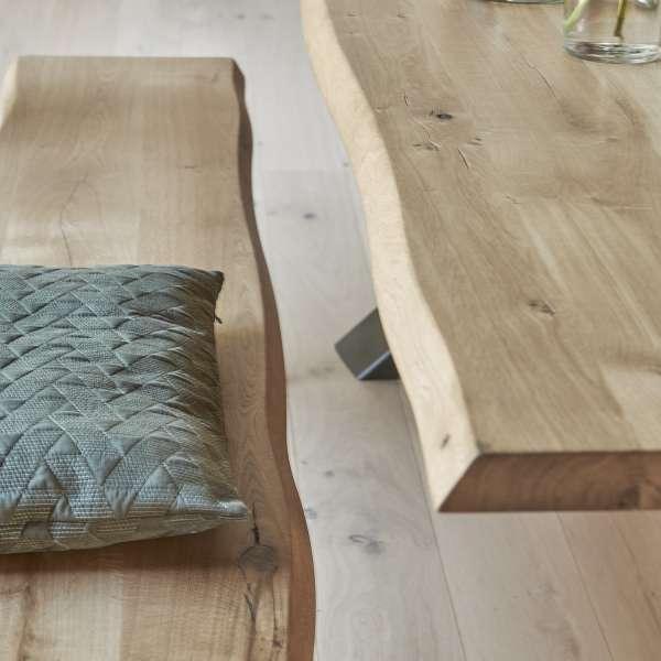 Table en bois massif et ceinture biseautée - Carte - 4