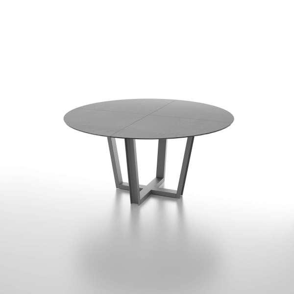 Table ronde design avec plateau en céramique - Viktor - 1