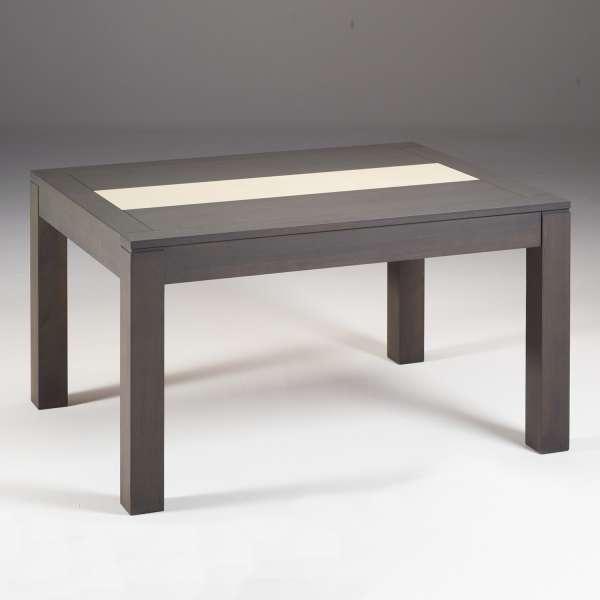 Table en bois extensible avec chemin de table en céramique - MRC410 - 2