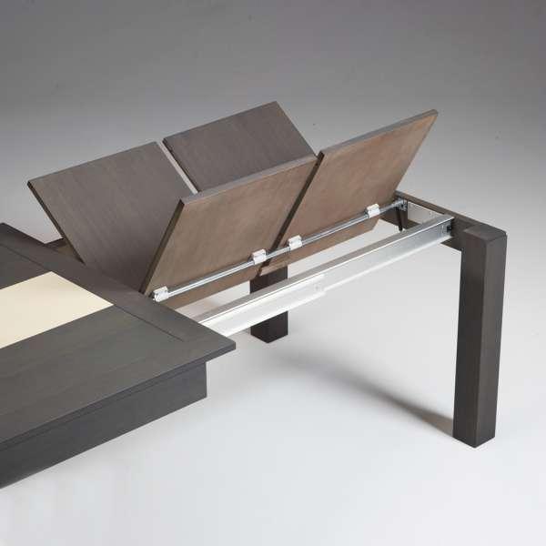 Table en bois extensible avec chemin de table en céramique - MRC410 - 4