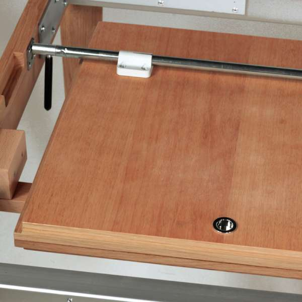 Table snack extensible en chêne made in France - Buzz 6 - 6